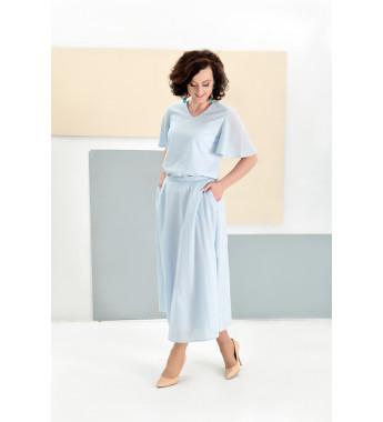 Spódnica LOUISE Pastel Blue